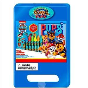 🐇 Nickelodeon's paw patrol Travel clipboard